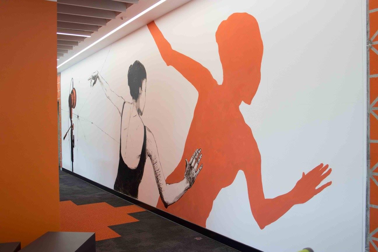 Amazon Principles – Mural drawings